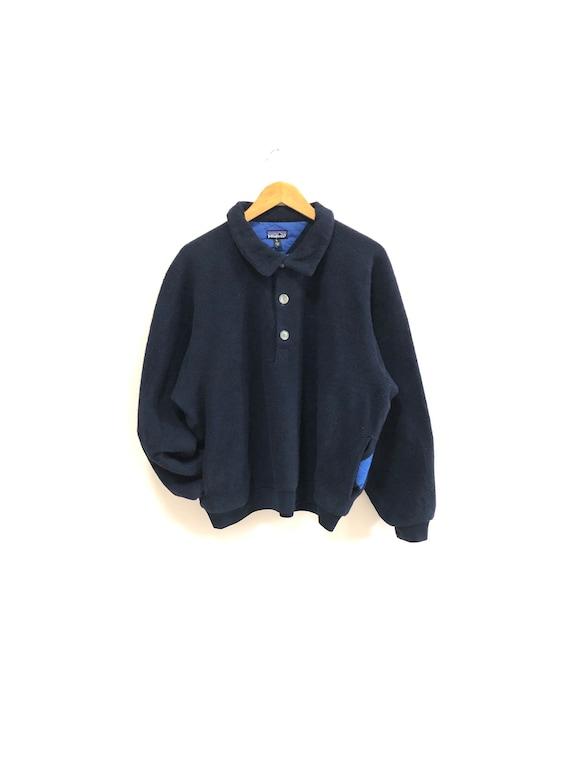 Vintage 90s Patagonia Fleece Sweater Patagonia Fle