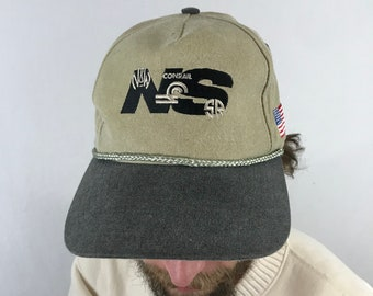 3f5d6273fe0 Vintage Norfolk Southern Two Tone Rope Snapback Hat