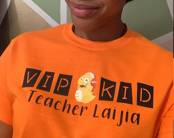 acd5d98c VIPKID Personalized shirt with Dino (vipkid)