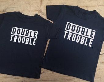 Double Trouble Childs Unisex T-shirt