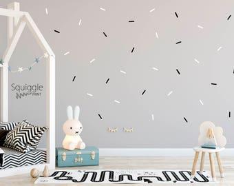 Sprinkle vinyl wall stickers