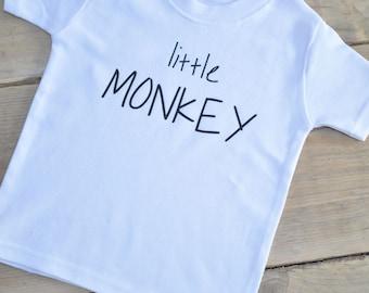 Little Monkey Childs Unisex T-Shirt