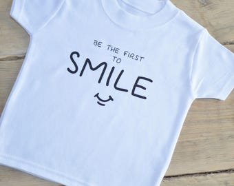 Be The First To Smile Childs Unisex T-Shirt