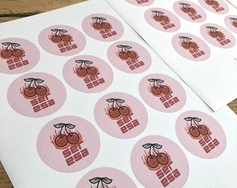 Business Logo Stickers Personalised Recyclable Paper Stickers