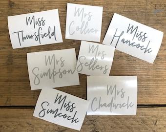 Teachers Gift Decal Sticker