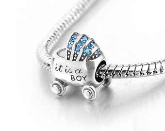 6467da2f5 wholesale pandora baby boy charm 791281czb 1b251 52fa1; promo code for baby  boy charm sterling silver its a boy charm baby charm boy charm