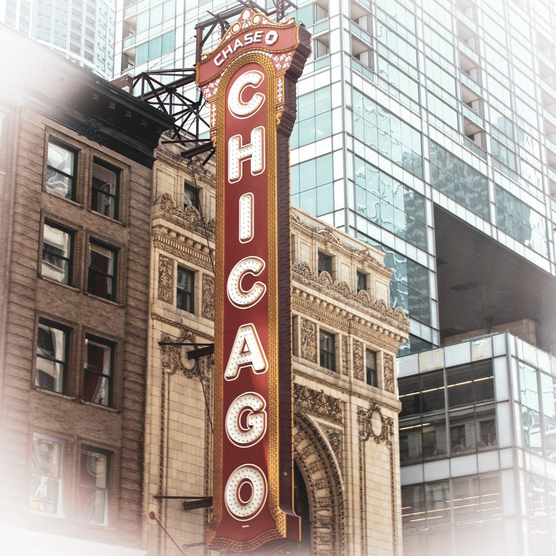Chicago Print Set Chicago Gallery Wall Chicago Photography Chicago Wall Art Downtown Chicago Chicago Architecture