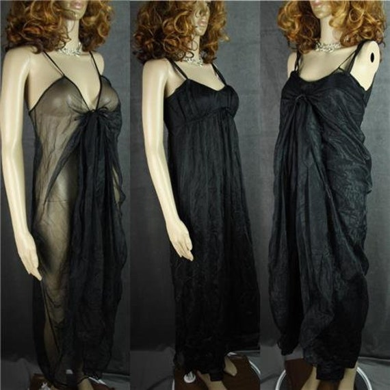 Vintage 60s * Sexy Nightgowns *  Two Nightgowns, T