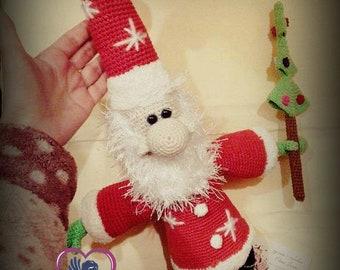Big Santa Claus - Christmas toy - Crochet doll Amigurumi - Gift ...   270x340