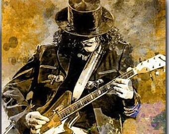 Jack White, White Stripes, Guitar Art, Guitar Gifts, Lazaretto, The White Stripes Print Poster, Raconteurs, Muisc Room, Spanish Guitar, Art