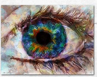 Eye Painting Etsy