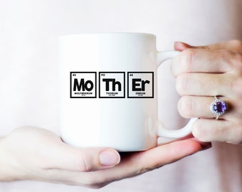Periodic table mug etsy mother periodic table mug mothers day gift mug for mom gift for mother urtaz Gallery