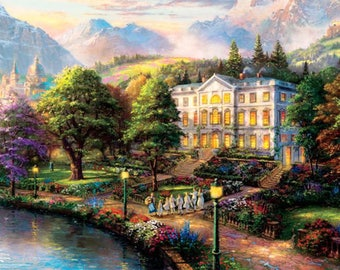 Sound of Music Land-Scape Cross Stitch Pattern***LOOK***
