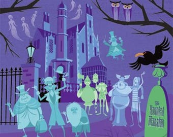 Haunted Mansion Cross Stitch Pattern***LOOK***