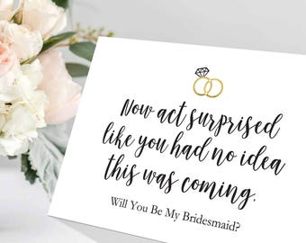 Terrible image with regard to bridesmaid proposal printable