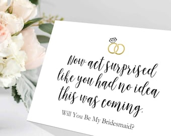 Revered image for bridesmaid proposal printable