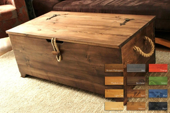 Chest Coffee Table 2