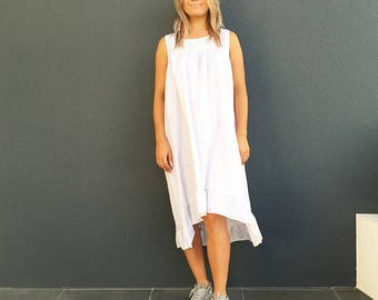 Marta ~ summer dress ~ lightweight cotton