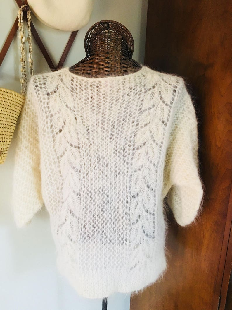 0d6be69c894add Handmade Wool Sweater Hand Knitted Pure Wool Sweater