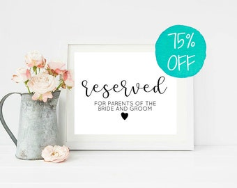 wooden reserved sign etsy
