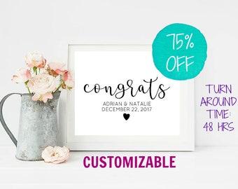 Rustic Wedding Sign, Wedding Decor, Wedding Signs, Custom Wedding Signs, Welcome Sign, Wedding Printable, Rustic Wedding, Wedding, Reception