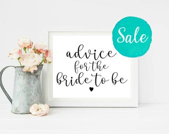 Advice for the Bride to Be, Bridal Shower Advice, Bridal Shower Games, Advice for Bride, Bridal Shower Games, Rustic Bridal Shower, Shower