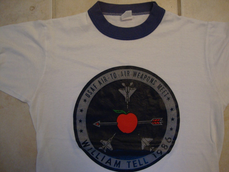 5205ceea Vintage 80's USAF United States Air Force William Tell | Etsy