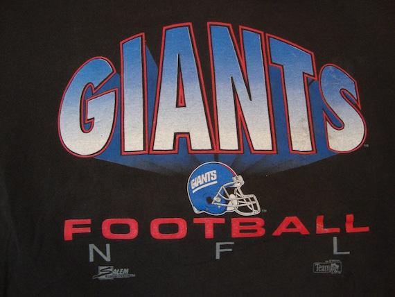 518ca2245 Vintage 90 s NFL New York Giants Football Salem Sportswear