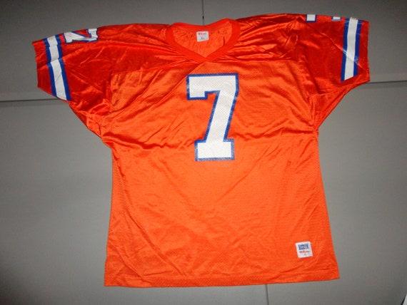 Vtg #7 John Elway 80's Wilson Denver Broncos NFL S