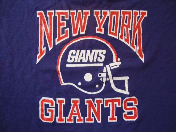 Vintage 80 s NFL New York Giants Football Sportswear Fan  86304d138