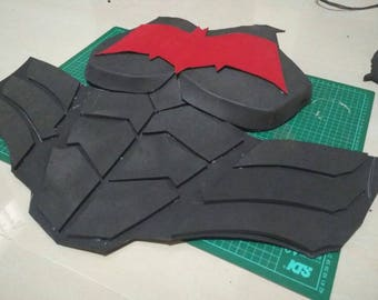 Red Hood Jason Todd Chest Armor for cosplay