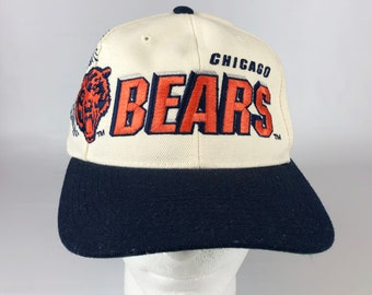 011acca5 90s Chicago Bears Pro Line Sports Specialties Snapback Baseball Cap Hat  Adjustable 1990s Retro Throwback Football NFL Sports Da Bears SNL