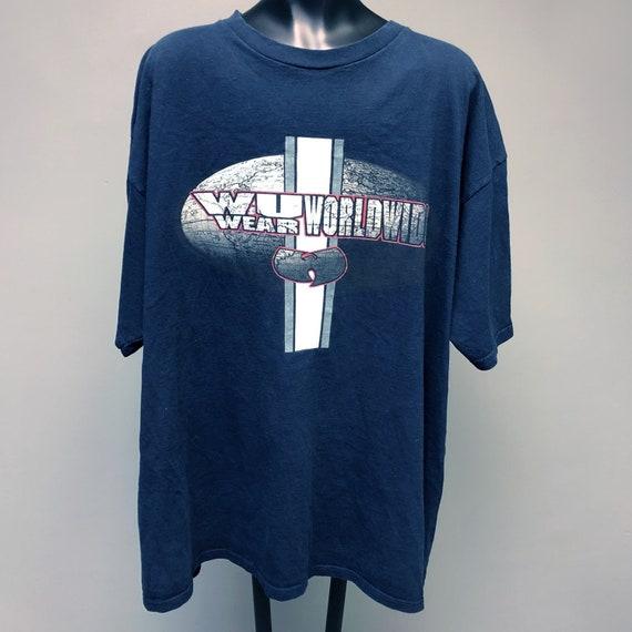 Wu Tang Clan /'Distressed Logo/' T-Shirt UK Seller Official Wu Merch