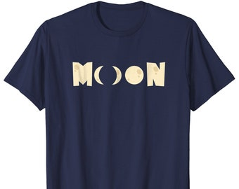 Moon Tee Shirt - Full Moon Shirt - Moon Phases Gift - Eclipse Shirt - Eclipse T Shirt - Eclipse Tee Shirt - Eclipse Top - Moon