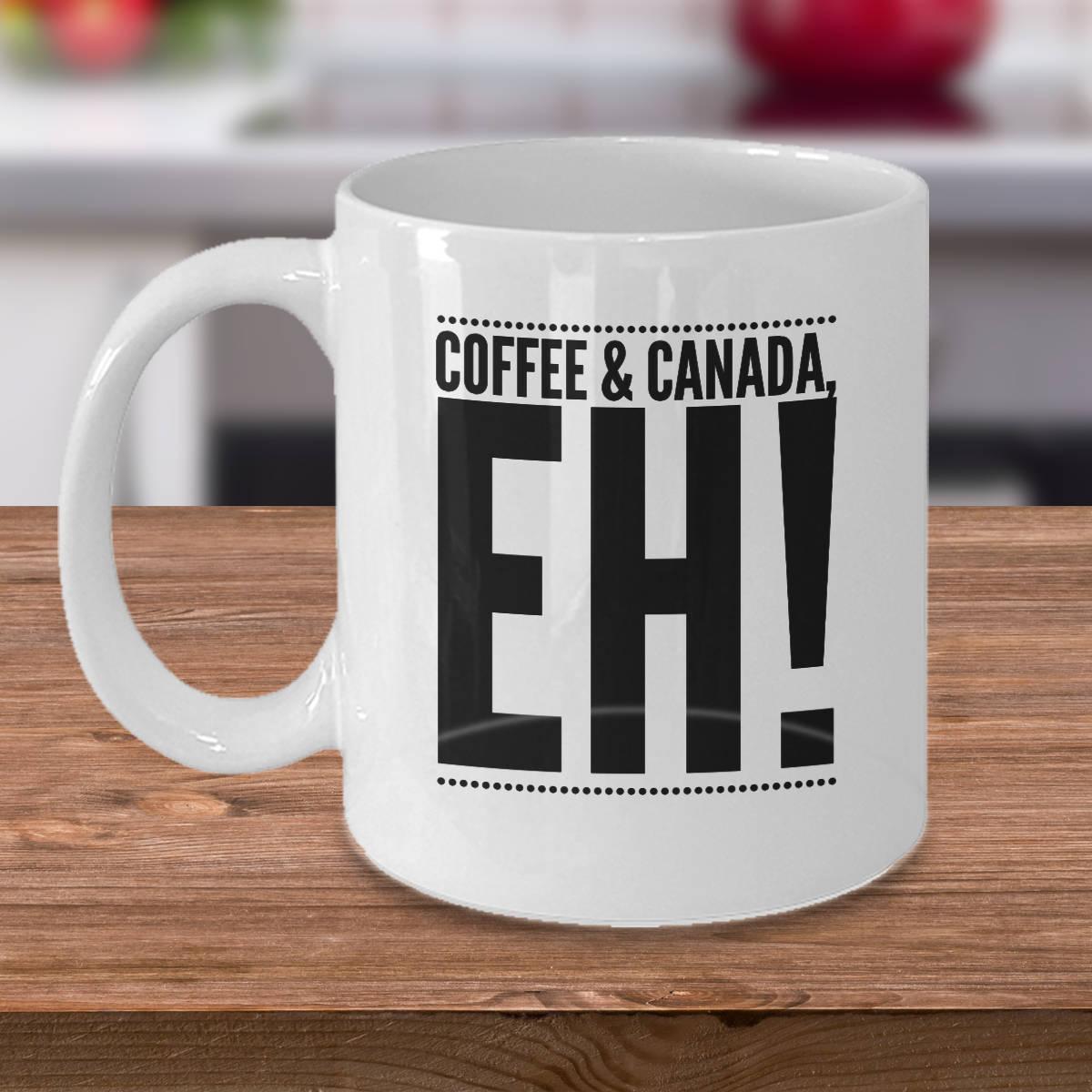 Canadian Mug Canada Coffee Mug Canada Gift Ideas Coffee | Etsy