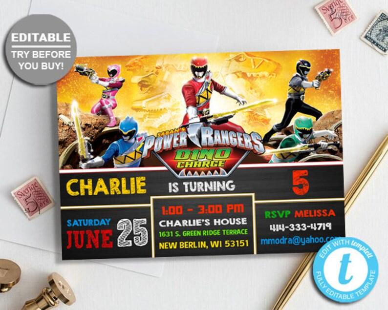 Power Rangers Biancheria Intima delle Ragazzi Confezione da 5