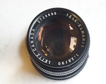 Leica Leitz Tele-Elmarit 90mm f/2.8 (I)