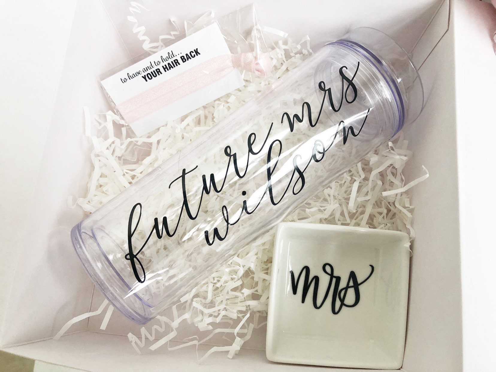 future mrs tumbler bride water bottle plastic bride tumbler skinny tumbler water bottle Bride tumbler with straw engagement gift-