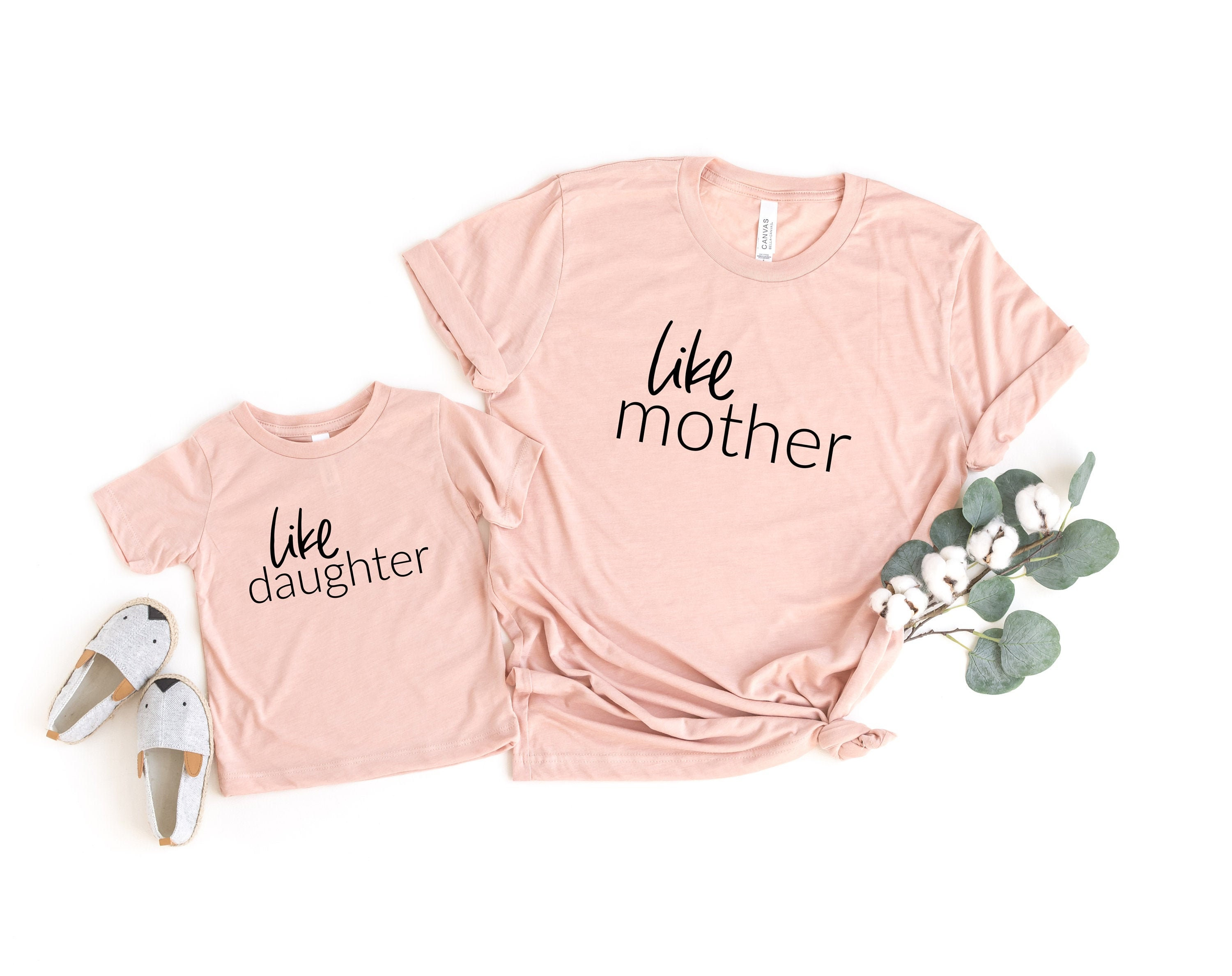 Unique Baby Besties Mommy and Me Matching Mothers Day Shirts