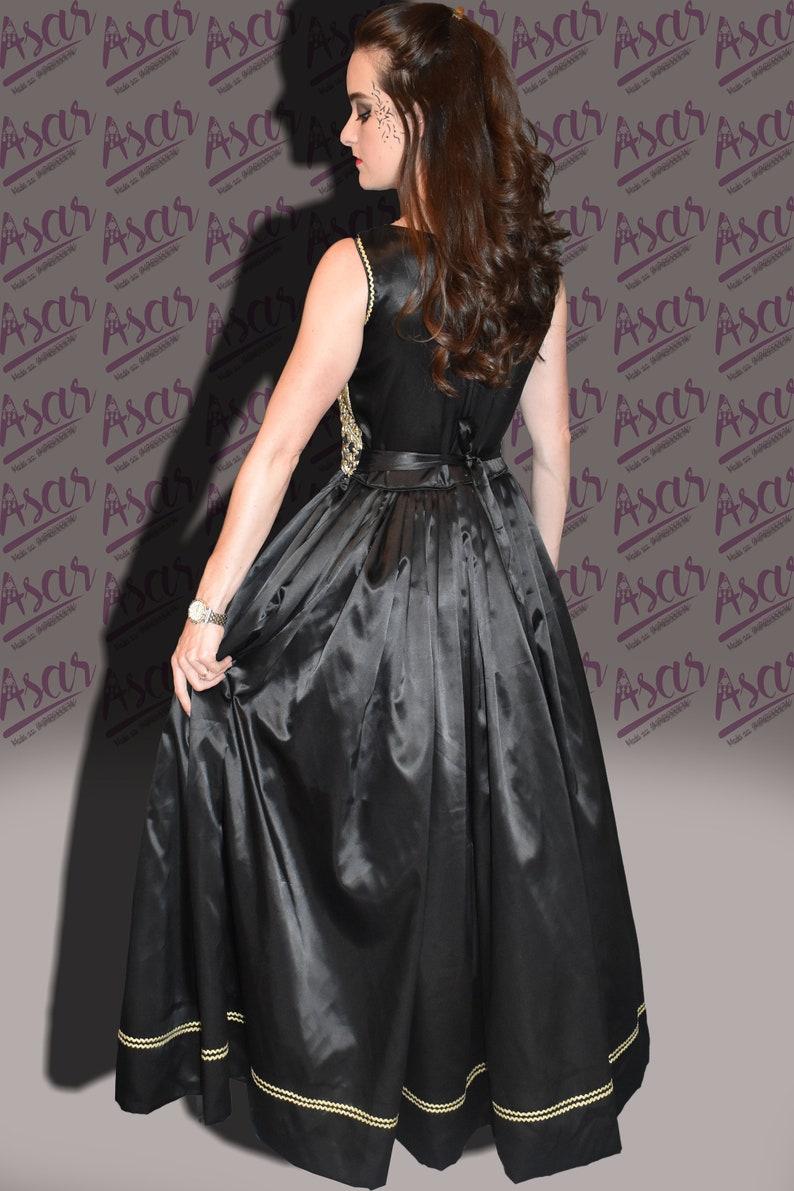9615f1f97b3f Splendido abito nero partito per matrimonio bellissimo