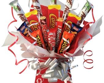 Nestle Chocolate Bouquet - Luxury Chocolate Hamper - Sweet Tree - Perfect Gift