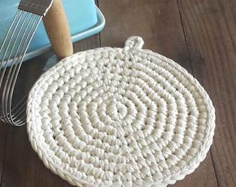 Crochet Round Potholder Pattern