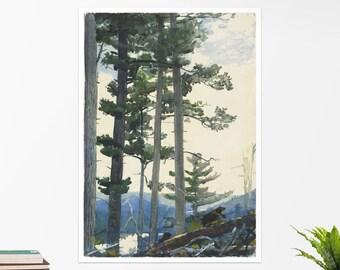 """Winslow Homer, """"Old Settlers"""". Art poster, art print, rolled canvas, art canvas, wall art, wall decor"""