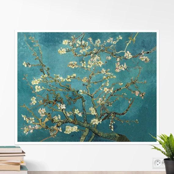 Vincent Van Gogh Blühende Mandel Baum Kunstposter Kunstdruck Gerollt Leinwand Leinwand Wandkunst Wand Dekor