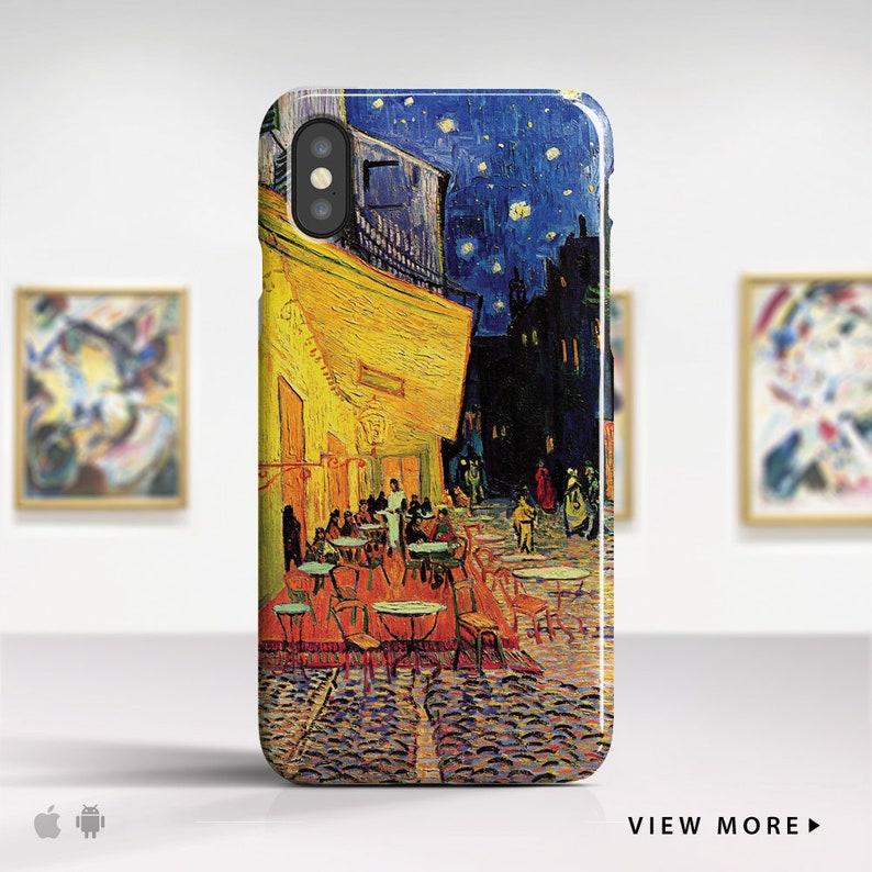 6c4817777af Vincent Van Gogh Cafe Terrace at Night iPhone X