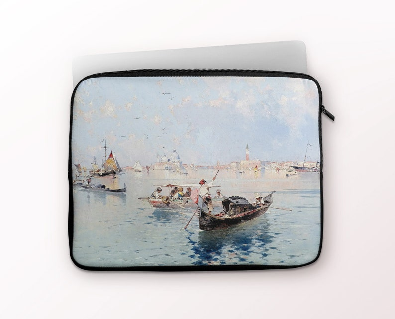 LS-FUN-01 F Unterberger View to Saint Marks Square MacBook Air Pro Case 12 13 15 inch Lenovo Asus HP Envy Laptop Sleeve