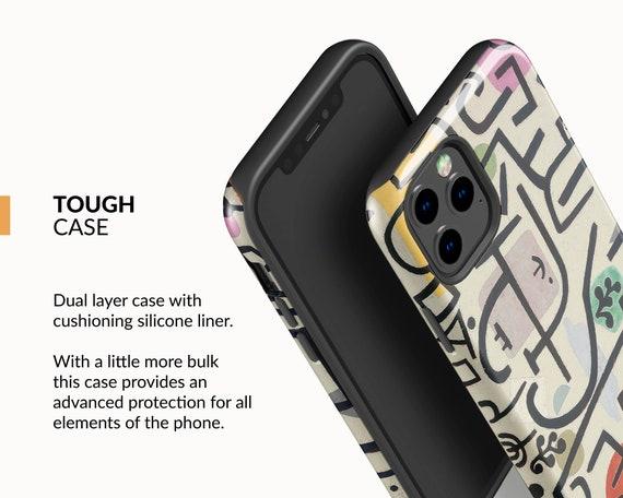 PC-PKL-08 Paul Klee Rich Harbour iPhone 11 Pro Max case iPhone Xs case iPhone Xr case iPhone 8 Plus case Protective case