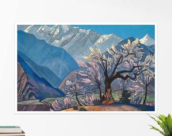 "Nicholas Roerich, ""Krishna (Spring in Kulu)"". Art poster, art print, rolled canvas, art canvas, wall art, wall decor"