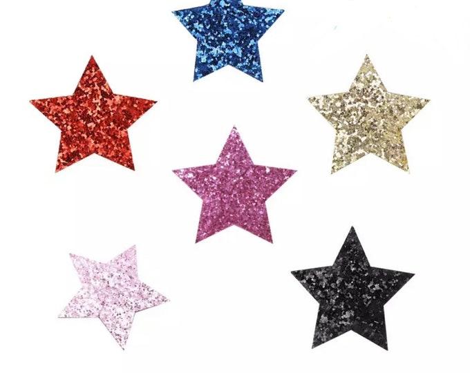 Extra large hair clip, large star clip, sparkle star, glittery star, glitter clip, sparkle clip, hair clip