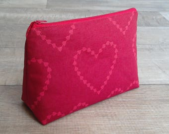 Makeup Bag, Cosmetic Bag, Travel Bag, Deep Cosmetic Bag